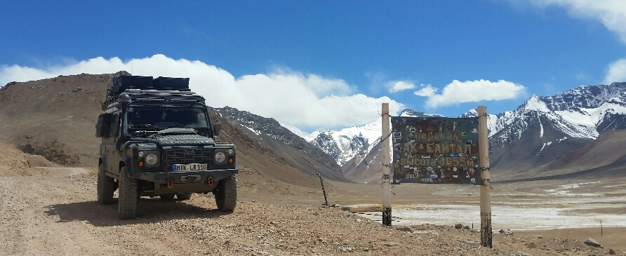 Story about travelling along the Silkroad and the Pamir published on Expeditionportal