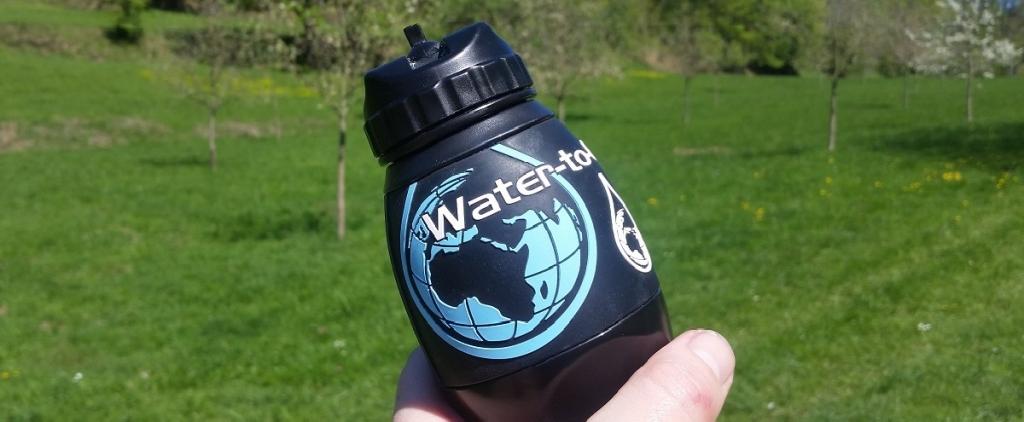 Trinkwasser unterwegs – die Filterflasche von Water-to-Go