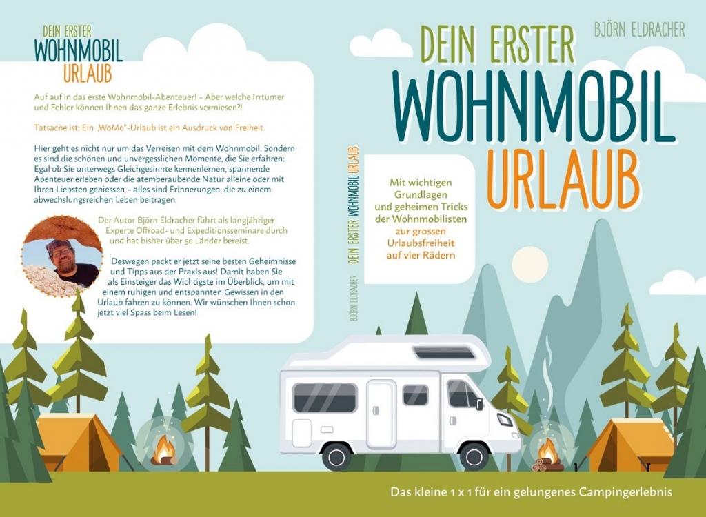 BUCH: Dein erster WoMo-Urlaub – Das kleine 1x1 für ein gelungenes Camping-Erlebnis
