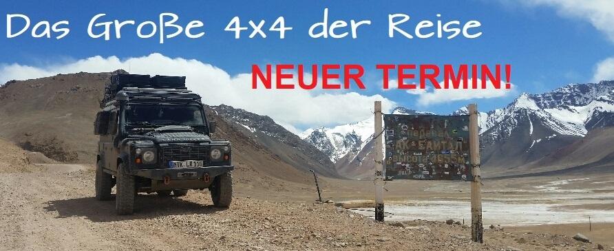 Neuer Termin: Das Große 4x4 der Reise