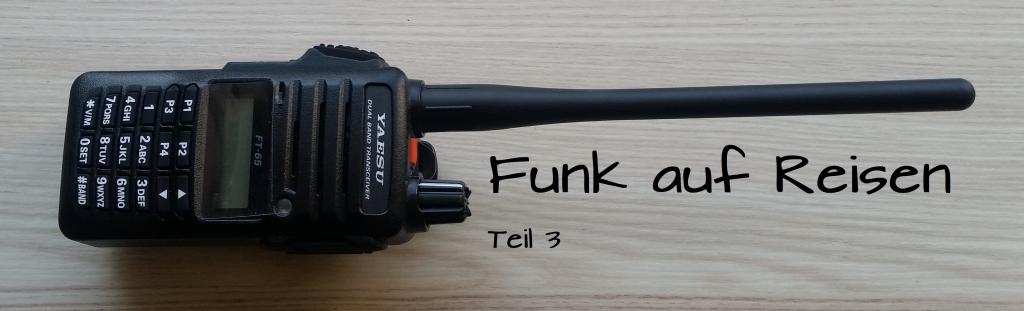 Funk auf Reisen - Das Große 4x4 zum Funk im Geländewagen